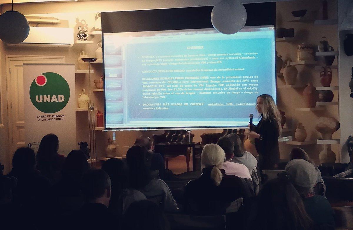 test Twitter Media - Turno para Laura Moreno, de @abd_ong, que nos explica cómo realizar el tratamiento de un caso clínico de #chemsex  #SoyAgenteDeSalud https://t.co/clKu1zkOs0