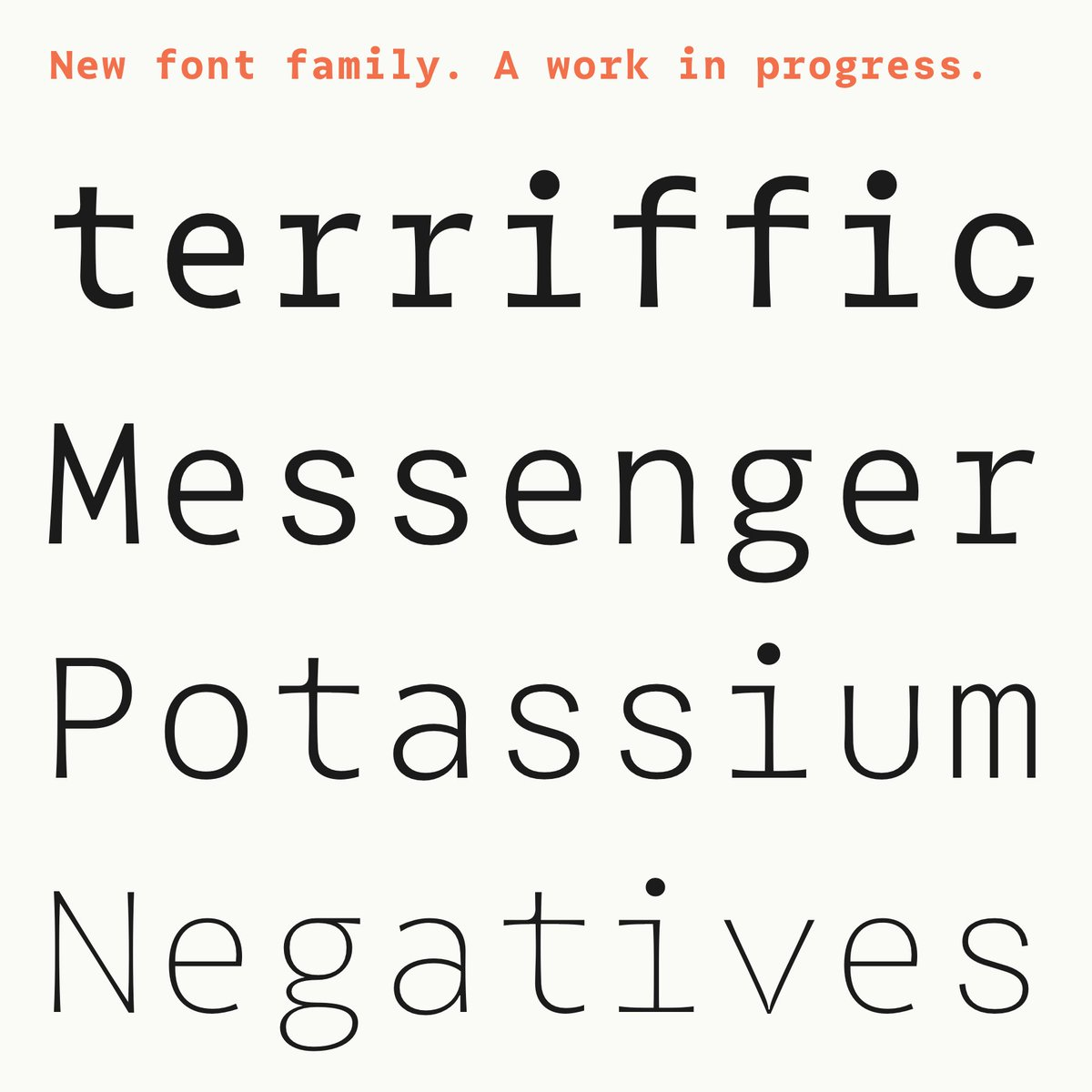 Work in progress… #type #typedesign #typeface #font #newfont #newfonts #typography #design https://t.co/EIHoPtHMFv