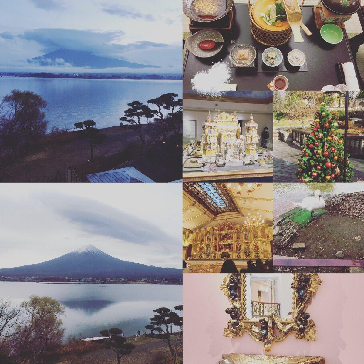 RT @ayuta71485745: お疲れ様です🌟 ちょっと前に河口湖の近くにお泊りしてきたよ😋 逆さ富士🗻おすそ分け🍀...
