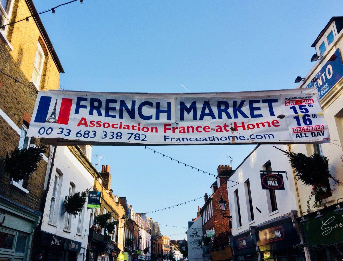 RT @twickerati: Coming up this weekend in Twickenham, the return of the French Market. #twickmas https://t.co/tICFlLoE5s