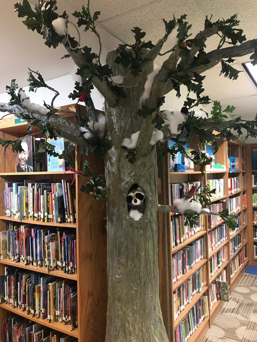 test Twitter Media - It's beginning to look a lot like winter in the library!  Snow is falling and we are bundled up!  #d30learns @AnnaDavisTIS @Wescott4S https://t.co/ehnsSk3gbM