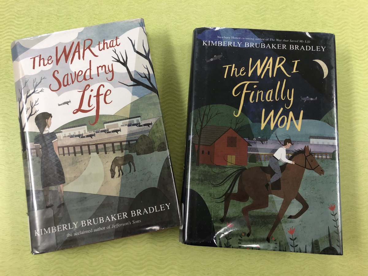 test Twitter Media - #12daysofD30 Day 7: A new author I love is Kimberly Brubaker Bradley who wrote the two books below. Highly recommend! #d30learns https://t.co/XdIipkVrWN