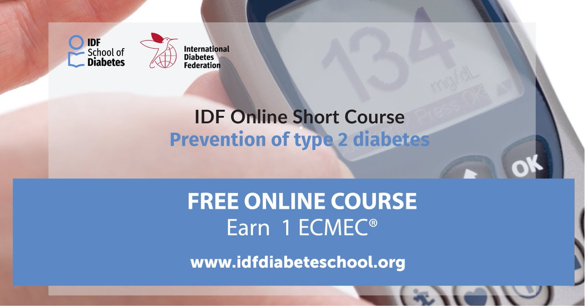 test Twitter Media - Up to 80% of type 2 #diabetes could be prevented by changing lifestyle habits. If you are a health professional involved in #diabetes care, increase your knowledge of type 2 diabetes prevention through our free online course #IDFSchoolofDiabetes  https://t.co/XG92iJXHim https://t.co/bYF0FyNpwV