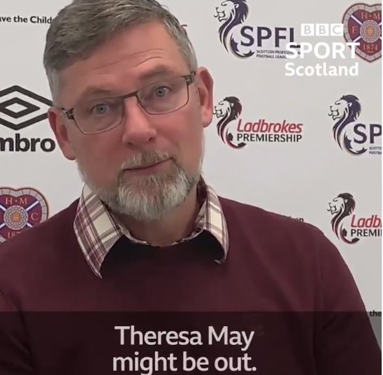 RT @Oldfirmfacts1: Petition to replace Andrew Marr with Craig Levein https://t.co/q3Cd0Ounvz