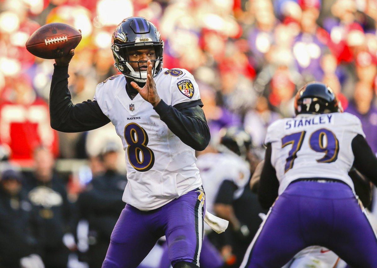 RT @BR_NFL: Ravens HC John Harbaugh announces Lamar Jackson will  start at QB on Sunday with Flacco as backup https://t.co/T0lZToVB9b