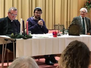test Twitter Media - #NPLS host Father Nicholas, my father Rabbi Dr Andrew Goldstein & Czech Student Rabbi @DavidMaxa Hillingdon @CCJUK Chanukkah/Xmas bash Doughnuts and Mince Pies galore! @hillingdon @HillingdonTimes @BoardofDeputies https://t.co/PeRa2jAqMq