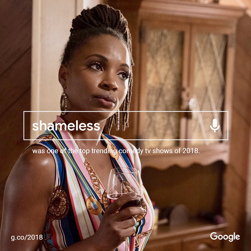 ⁦Wow! ⁦@SHO_Shameless⁩ was one of ⁦@Google⁩'s top trending comedy tv shows of 2018! Thank you fans! https://t.co/Q7dpy1jk4E