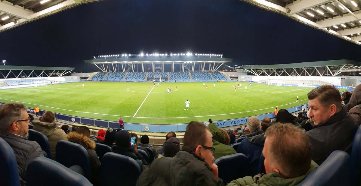 test Twitter Media - Enjoying Manchester City vs Hoffenheim champion's League  on a 1 day club visit thanks to the English FA. Impressive & highly resourceful. Youth Academy is impressive too. https://t.co/f4mtmdetG3