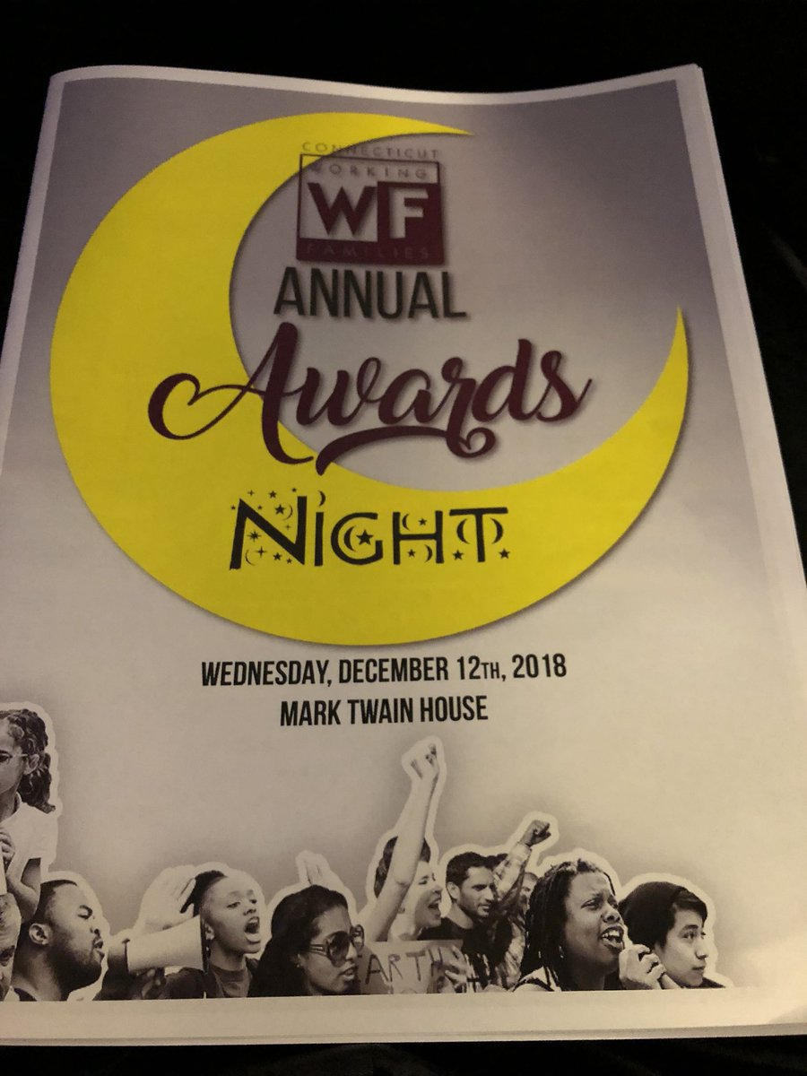 At the @CTWFP Awards Night, so great to see the people who actually do the work being honored!! https://t.co/Rmt5Ol0va9