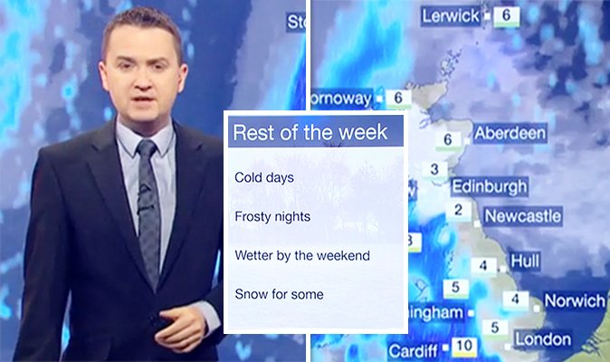 DISRUPTIVE snow to hit the UK as temperatures plummet https://t.co/4kUYNku9Mi #BBCbreakfast #UKWeather #forecast https://t.co/suqb3Gg7US