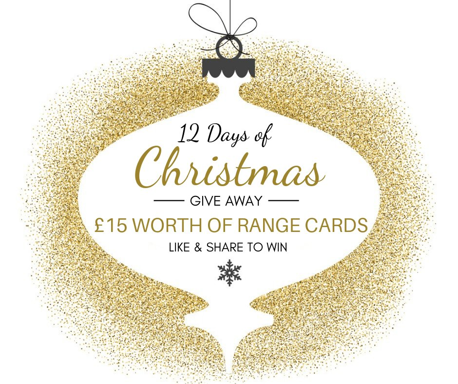 test Twitter Media - On the second day of Christmas…. we're giving you the chance to win £15 Worth of Range Cards!✨  HOW TO ENTER: 1. Like this post & page 2. Retweet  Ends 23.59 GMT today, and the winner will be announced on this post tomorrow. (Also running on Facebook) https://t.co/emgZGn2u4b
