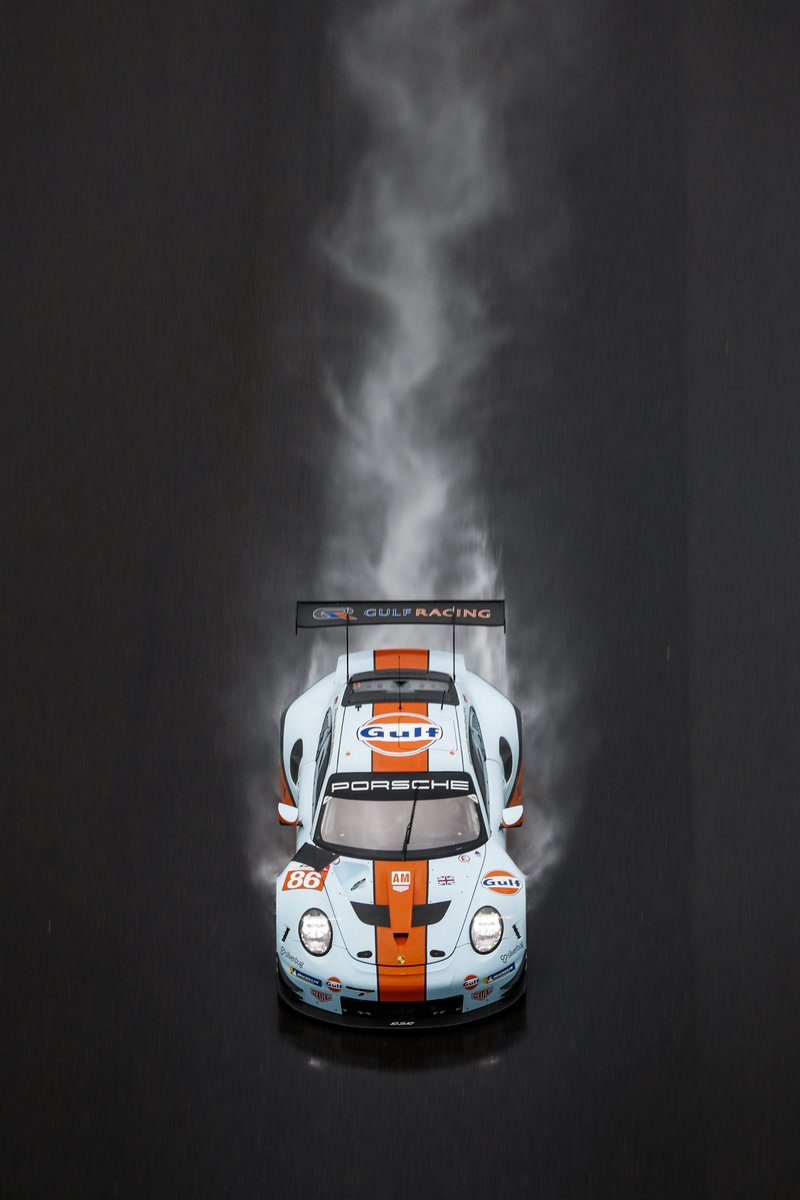 RT @PorscheRaces: #WEC - heavy rain during the #6hShanghai @FIAWEC #ThrowbackThursday #Porsche #911RSR @Gulf_Racing https://t.co/liZny2HBWJ
