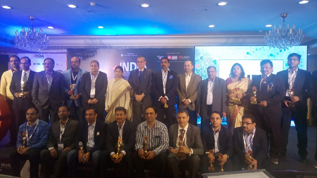 test Twitter Media - Padma Jaiswal, Secretary, Directorate of Information #Technology, Government of #Puducherry and Dr @ravigupta1000, Founder CEO & Editor-in-Chief, @eletsonline and all the award winners at 13th eINDIA Digital Transformation Summit, New Delhi. #eIndia https://t.co/9jvVL9OTJp