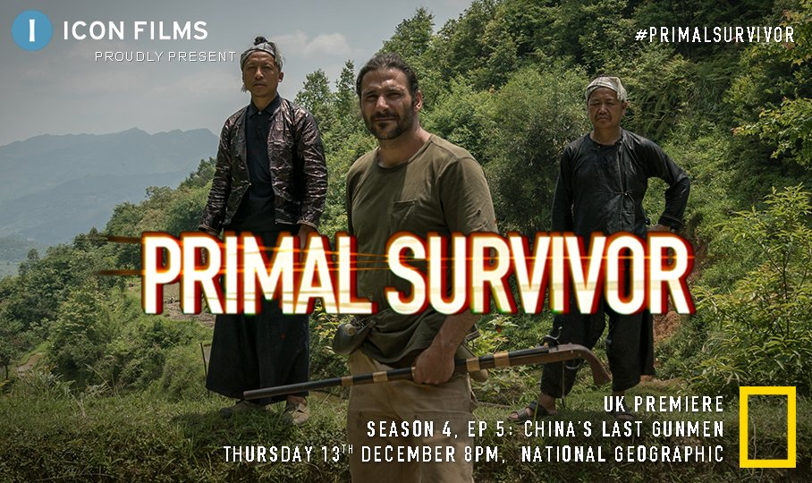 #Tonight @HazenAudel takes on thick jungle & raging waters in the rite of passage challenge to be accepted as a man in the gun-wielding Biasha tribe. Tune into the penultimate episode of #PrimalSurvivor 8PM @NatGeoUK #survival #adventure #newseries #outnow #China #Biasha #tribe https://t.co/KCQqhlfsMB