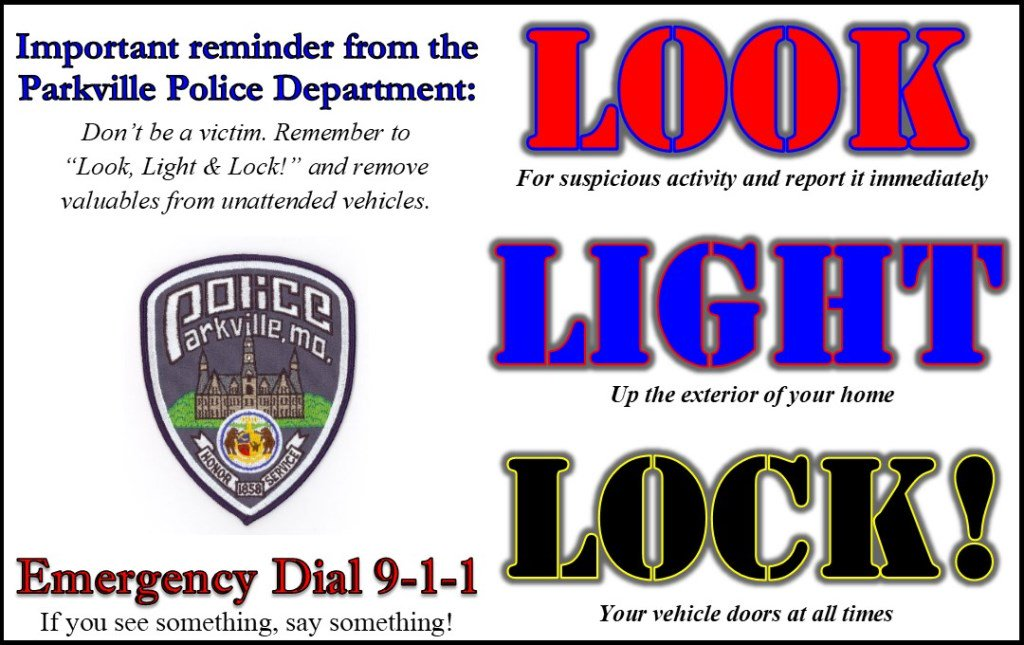 test Twitter Media - During these cold winter months, it is important to remember not to leave your car running unattended. Always turn your car off and lock it up, even if you're running into a store for a quick minute. Don't be a victim of a stolen vehicle. Look, Light & Lock! #ParkvilleMOPolice https://t.co/4ueIrnzUs3