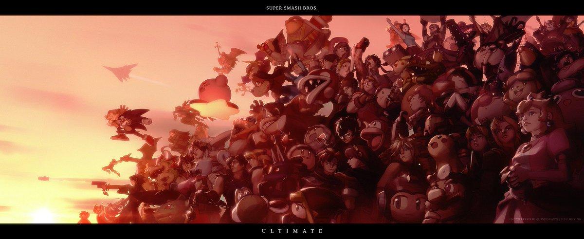 Super Smash Bros...  Ultimate  #SmashBros #SmashBrosUltimate @NintendoAmerica