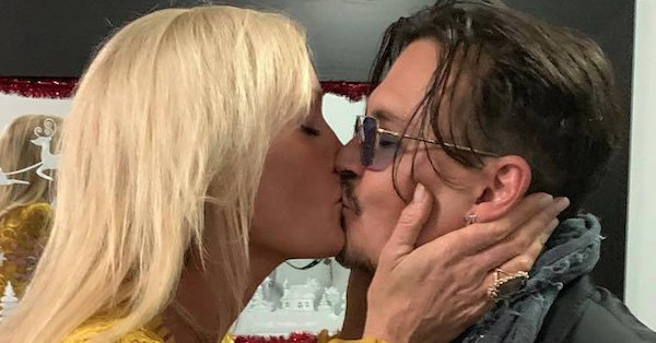 """It's not what you think—Johnny Depp and Letitia Frye are """"just friends."""""""