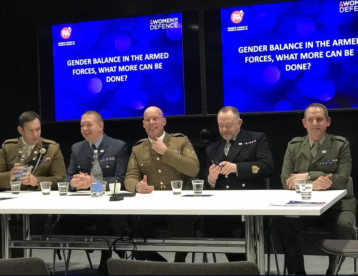 RT @sbattrawden: 'Gender balance in the armed forces, what more can be done'  Is this for real? https://t.co/lndhNQ0sjk