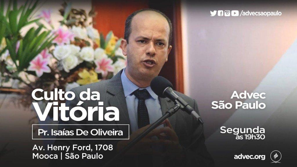 Culto Da Vitória | Pr. Isaías De Oliveira |03/12/2018 https://t.co/MawopFZwRP https://t.co/Tk4ATbook6