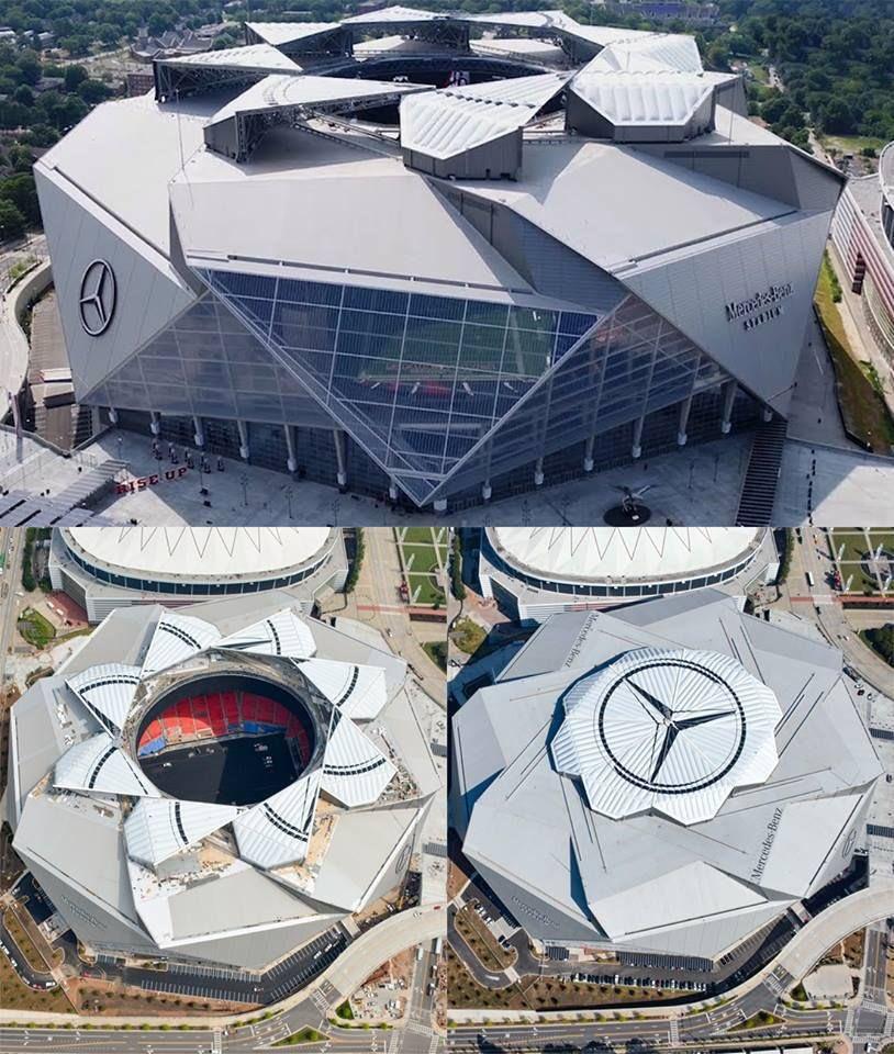 RT @LMDFoot_: Le Mercedes-Benz Stadium, stade de l'Atlanta United 😍🇺🇸 https://t.co/rPUjQByPmr
