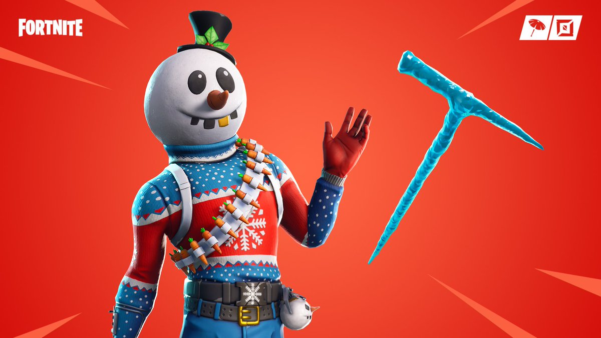 test Twitter Media - Built for Battle ⛄  The new Slushy Soldier Outfit and Icicle Pickaxe are available now in the Item Shop. https://t.co/5NzdcFA3I6