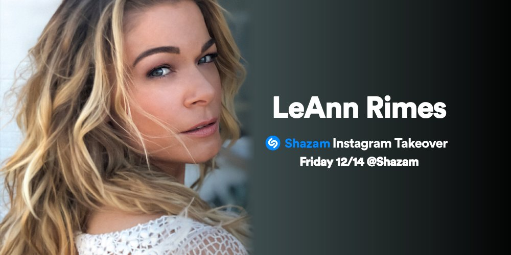 RT @Shazam: .@leannrimes is taking over our Instagram tomorrow before her performance on the @TODAYshow!!! https://t.co/DuAfN0AWEM