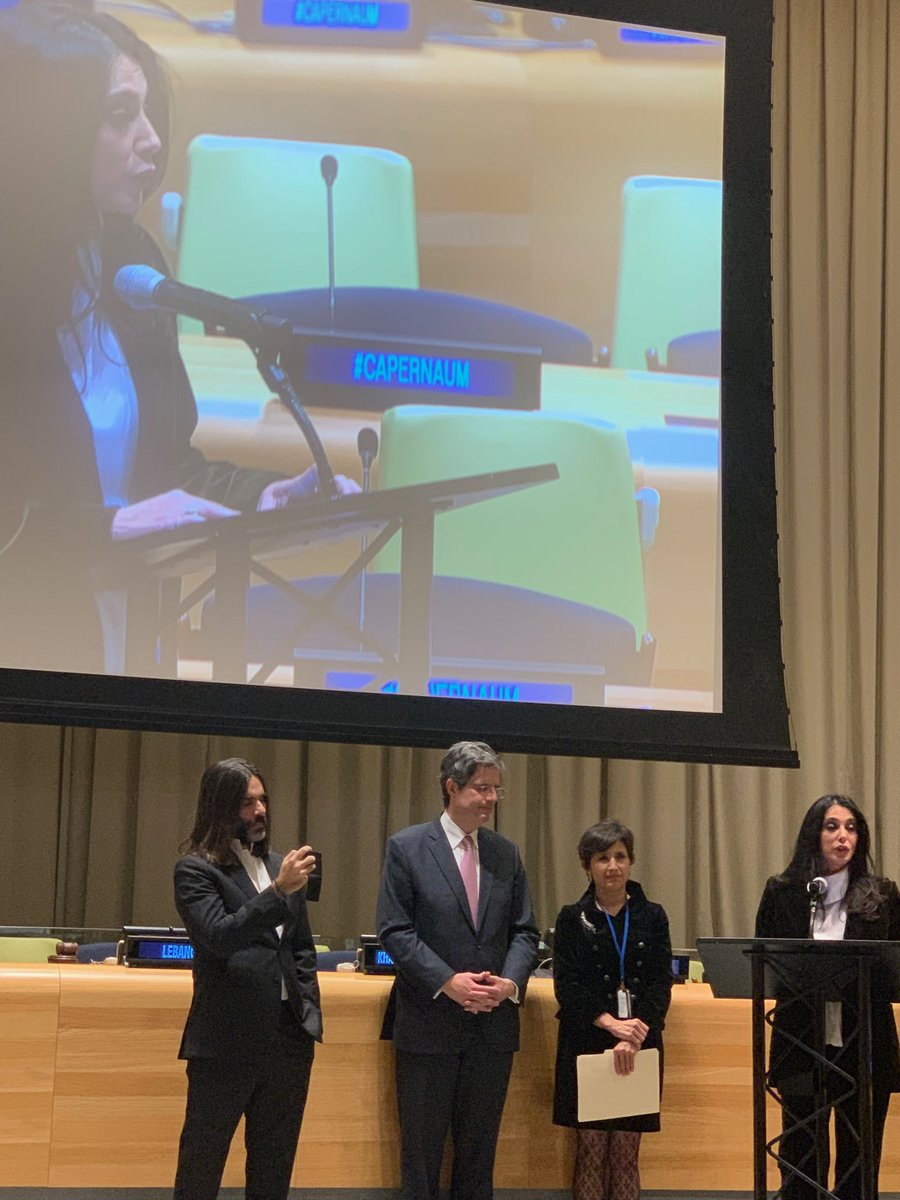 test Twitter Media - #NadineLabaki #KhaledMouzannar #Pr#Lebanon #Amal Mudallali #PR#France#FrancoisDelattre #presenting #Caparnaum #UN https://t.co/sPGUz2O4CO