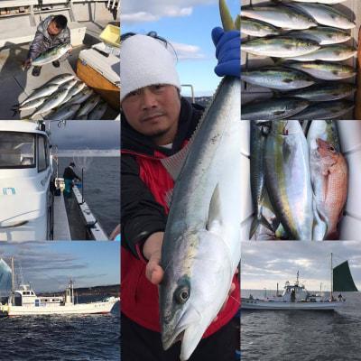 和歌山県中部 海迅丸  またまた師匠の弁慶丸さんの所にメジロの飼付に行ってきました。 船中40本弱の釣果でした。ええ感じになってきましたよー!!  https://t.co/qjC25WkkA3 https://t.co/icbREp3git