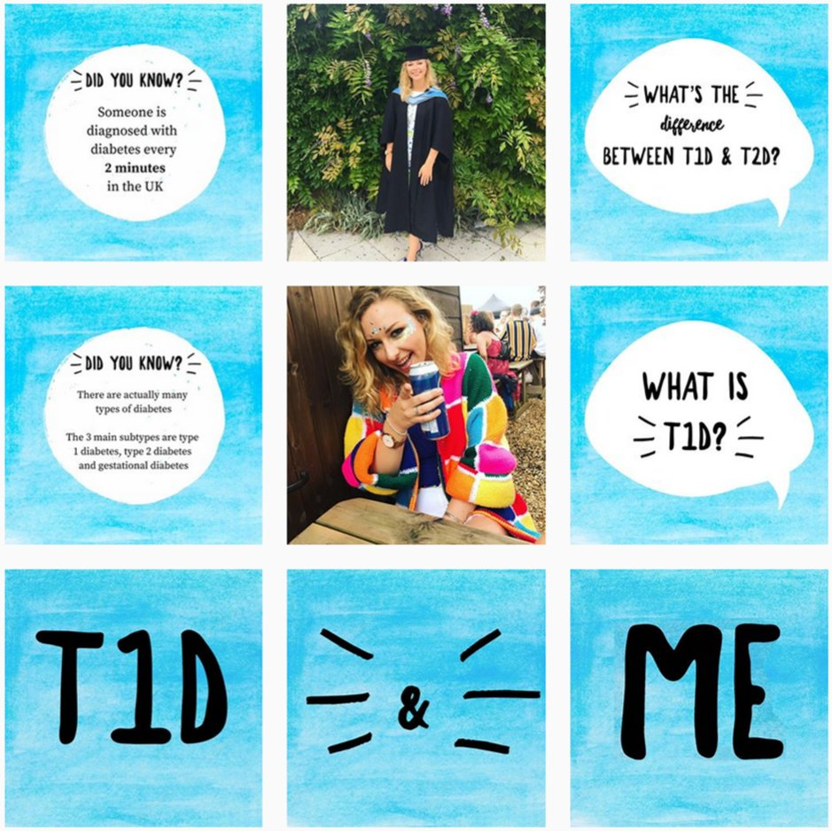 test Twitter Media - PhD Student @alicelouisejane was interested in type 1 #diabetes #research long before her own diagnosis 6 years ago. Drawing on her personal experience and professional knowledge, Alice launched her Instagram blog T1D&Me to demistify #T1D last #WorldDiabetesMonth #ExeterDiabetes https://t.co/t340u0Uap7