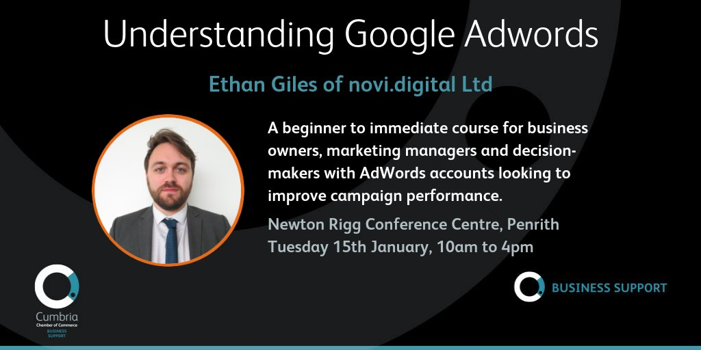 test Twitter Media - Understanding Google Adwords Workshop with @novidigital on 15th January at  Newton Rigg, Penrith @ConferencesNrc - more info & booking at https://t.co/whOyAKMToG https://t.co/PA65K9eSAm