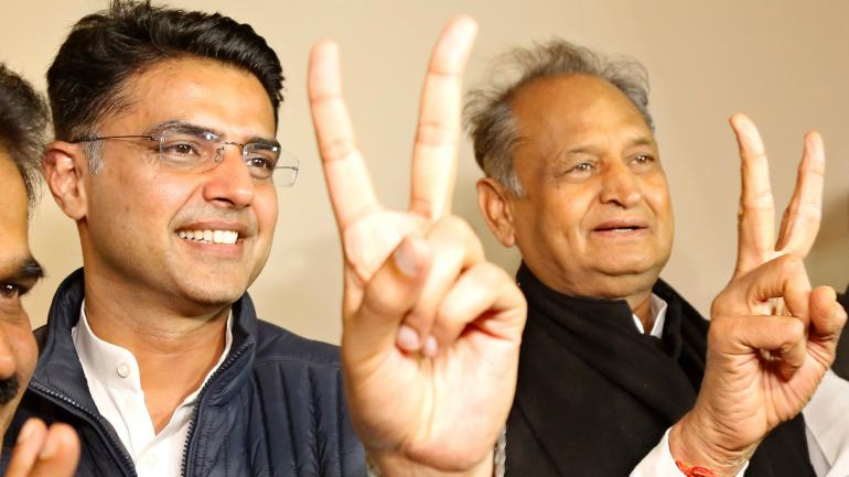 test Twitter Media - BIG NEWS! Ashok Gehlot to be Rajasthan CM, Sachin Pilot to be his deputy  Read More: https://t.co/odq1aGBOvo https://t.co/pr87YXPPTW