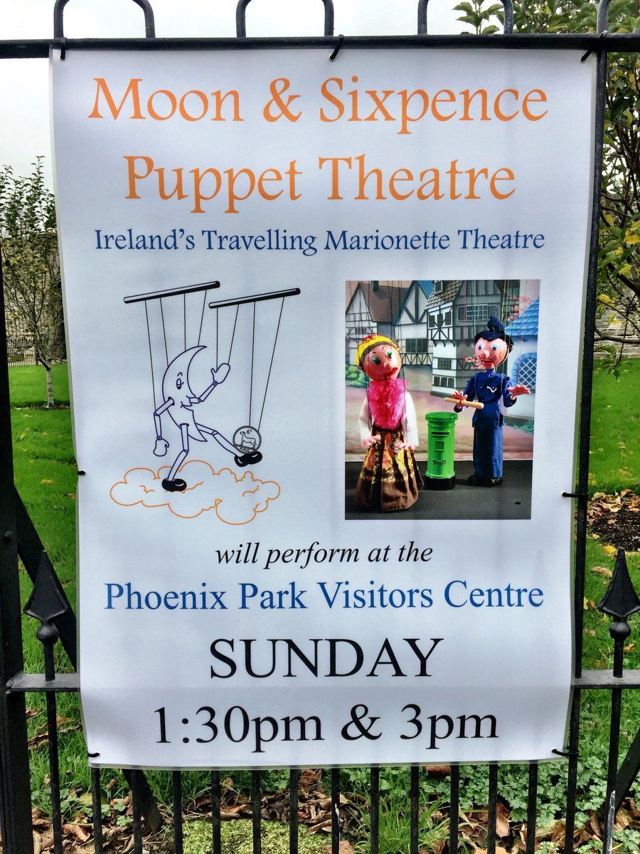 """test Twitter Media - Ireland's travelling marionette theatre, the Moon & Sixpence Puppet Theatre, will perform their special version of """"Little Red Riding Hood"""" at the Phoenix Park Visitor Centre on Sunday, 16th December 2018 at 1:30pm & 3pm. https://t.co/ilvP192GTS"""