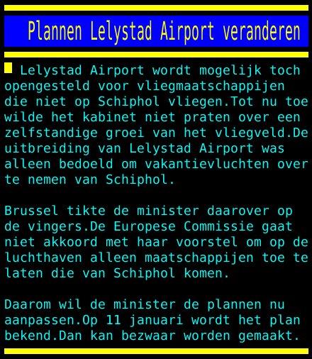 test Twitter Media - Plannen Lelystad Airport veranderen https://t.co/QUQw4EXmHw
