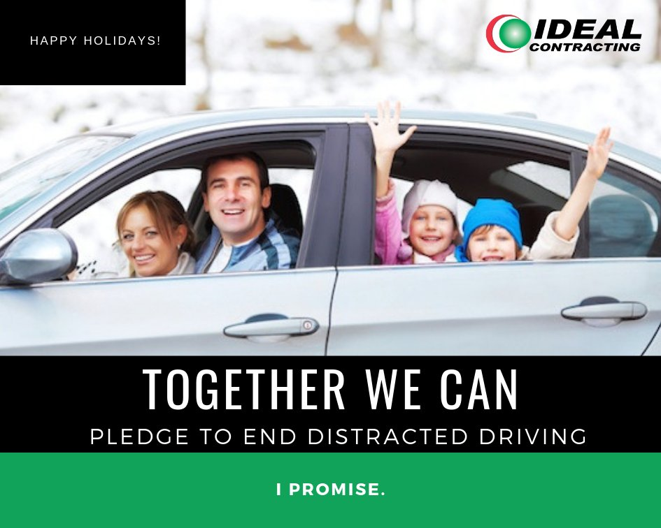 test Twitter Media - Remember to stay safe during this holiday season! Take the pledge to end distracted driving. #TogetherWeCan #Holiday #DistractedDriving #Safety https://t.co/nIXoEM3f1x