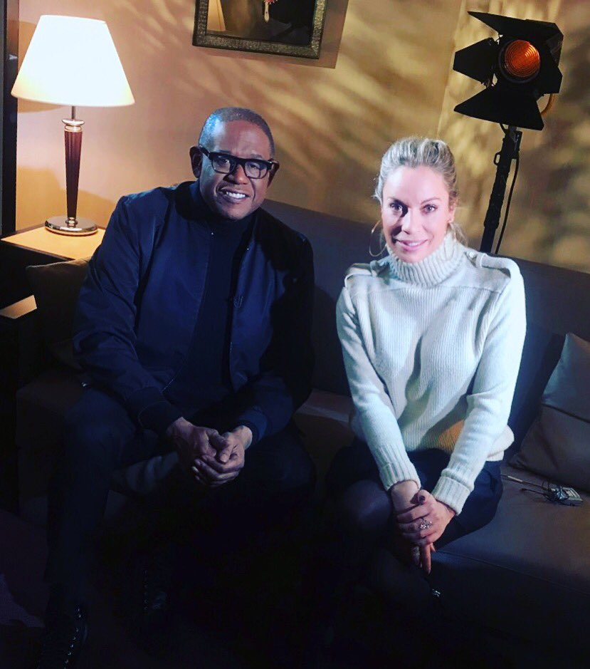 RT @chachabouteloup: #forestwhitaker bientôt dans@telematin @France2tv #oscarwinner #theforgiven https://t.co/MCnlSM0Uax