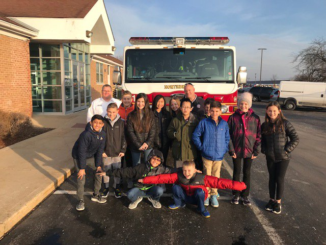 test Twitter Media - Ms. Rathge reports that Maple 6th health students had a visit from  Northbrook Fire Department this week. Inspector Morphy & Inspector Thompson educated students on fire safety. The lesson included a tour of a fire engine & review of safety procedures. #d30learns https://t.co/jltKaRUy9e