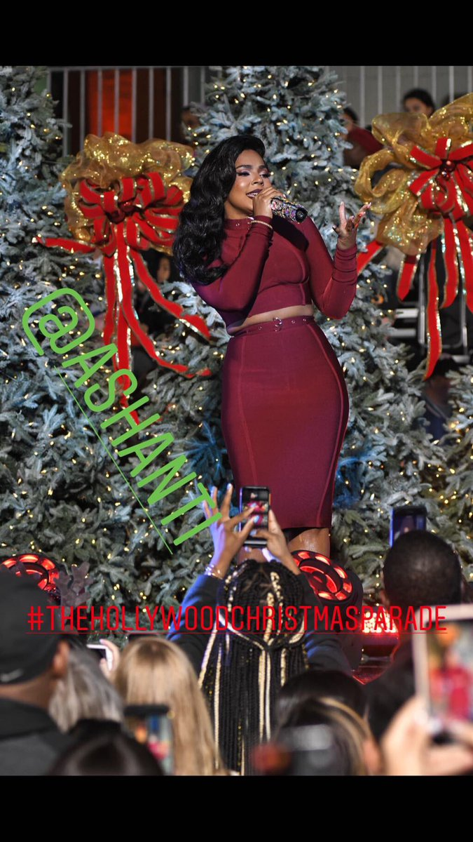 RT @popstarmagazine: Don't miss @ashanti TONIGHT 8/7c on the CW performing at #thehollywoodchristmasparade https://t.co/MoAIuNfFoC