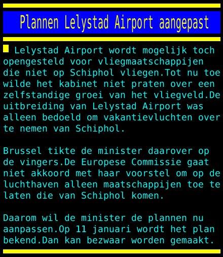 test Twitter Media - Plannen Lelystad Airport aangepast https://t.co/Ymetgn5H9S