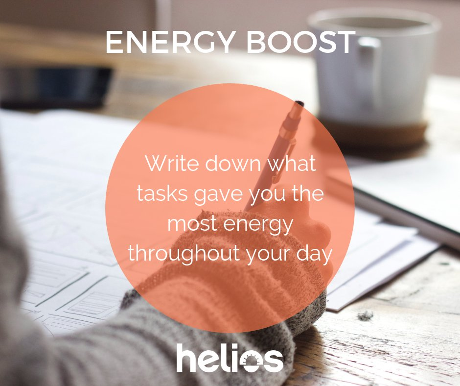test Twitter Media - Quick tip for creating more energy in your day: make a list of what energizes you throughout your day. Then... make a plan to do more of those things! #lovework https://t.co/E6YQihppFW