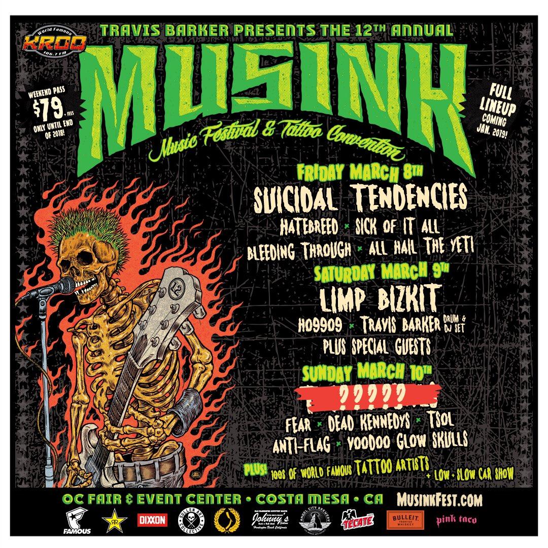Tickets for @Musink_TatFest on sale now!! https://t.co/gkGFmk617o https://t.co/6f1I6MoWJE