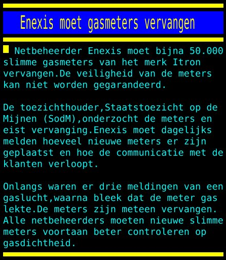 test Twitter Media - Enexis moet gasmeters vervangen https://t.co/UAvXszqhYa