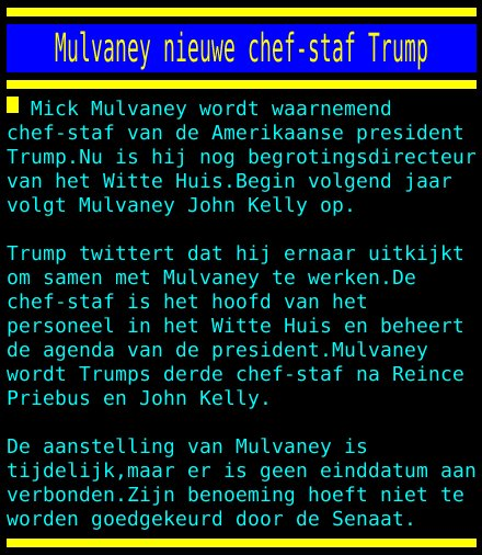 test Twitter Media - M Mulvaney nieuwe chef-staf Trump https://t.co/RPIaU3ple1