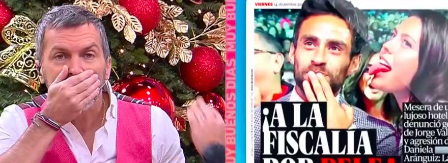 "¿La delató?: Cristián Sánchez aseguró en ""Muy Buenos Días"" que Diana Bolocco se va aMega https://t.co/Czk8Llz8Ao https://t.co/IPz1hoR2Ol"