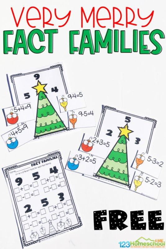 TI: Very Merry Fact Families Activity. https://t.co/QzfsSArusy #kchat #kinderchat #1stchat #2ndchat #elemmathchat https://t.co/szrUzikK9O