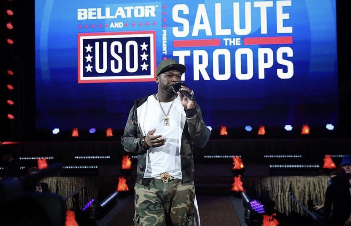 Bellator was lit ????tonight, I salute the troops. They put it all on the line for us. #lecheminduroi #bellator https://t.co/JXYBF4Xu19