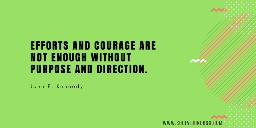 test Twitter Media - Efforts and courage are not enough without purpose and direction. - John F. Kennedy#quote  #weekendwisdom https://t.co/sw2b4vGQ46