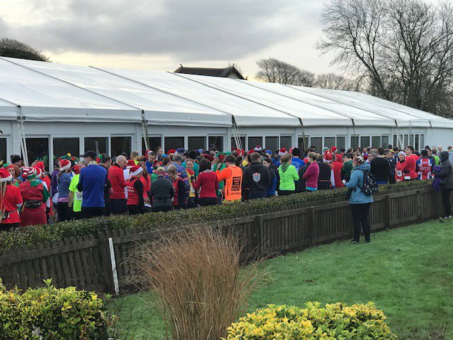 test Twitter Media - This morning we've had over 300 runners brave the cold weather this morning to take part in @RHSportzmad Santa Run!🏃♂️🎅  They'll be running around the edge of the Golf Courses using our Nature Trail. . . #sportzmad #santarun #funrun #bravingthecold #cottrellpark  #feelingfestive https://t.co/1LmciOCKqT