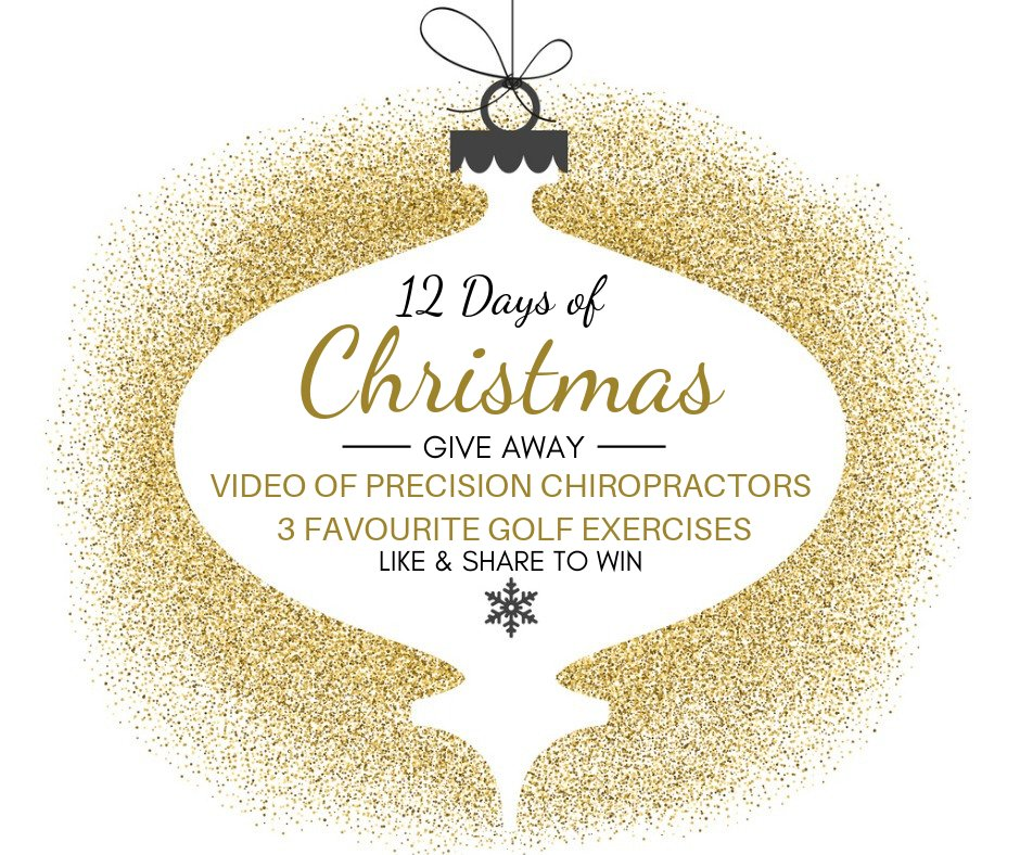 test Twitter Media - On the fifth day of Christmas…. we're giving you the chance to win a Video of Precision Chiros 3 Favourite Golf Exercises!✨  HOW TO ENTER: 1. Like this post & page 2. Retweet  Ends 23.59 GMT today, and the winner will be announced on this post tomorrow. (Also running Facebook) https://t.co/ZeVowgTfAf
