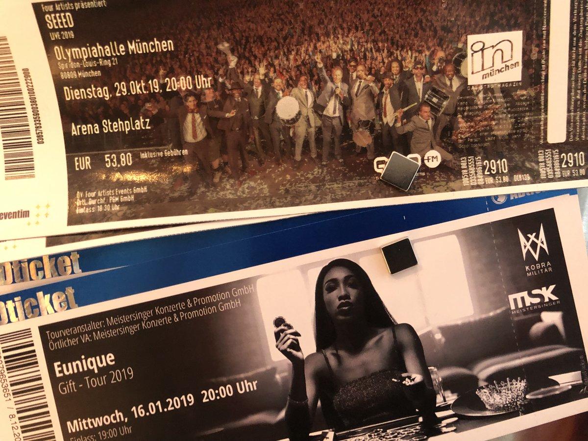 test Twitter Media - Die 2 ersten Konzerte 2019 hängen hier schon #seeed #eunique https://t.co/kbdIaXBScB