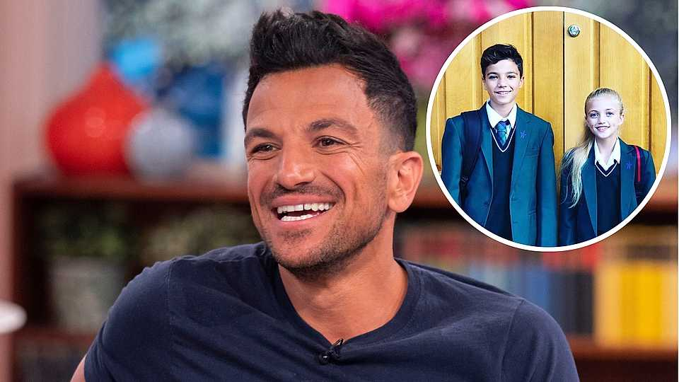 Peter Andre reveals Junior and Princess is not spending Christmas Day with Katie